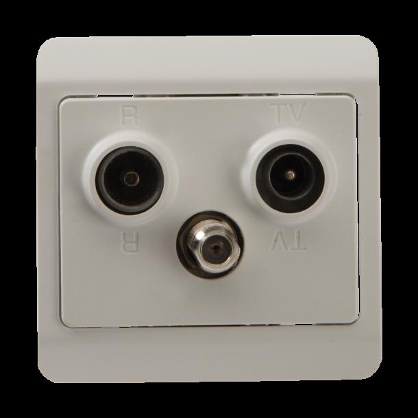 Triax TD 372 R/TV/DATA Slutdåse