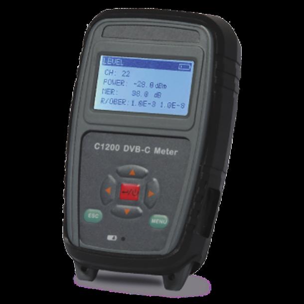 DEVISER C 1200  DVB-C måler