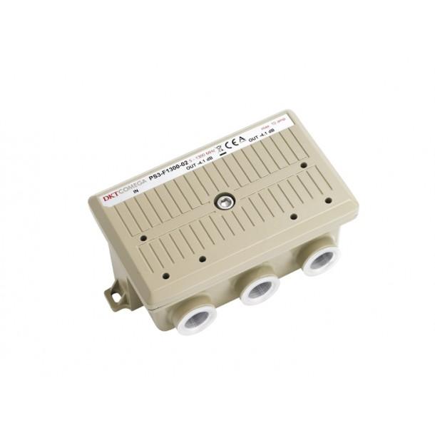 1-way power tap, 2.2/7.3 dB, 10A