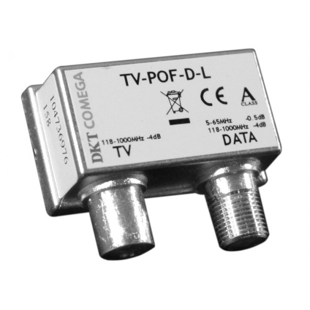 Push on for TV port TV POF-204-T6