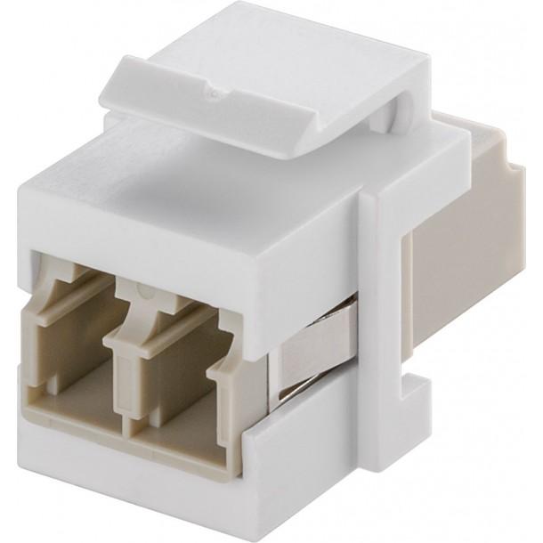 Keystone, Adapter 2 LC-Duplex female