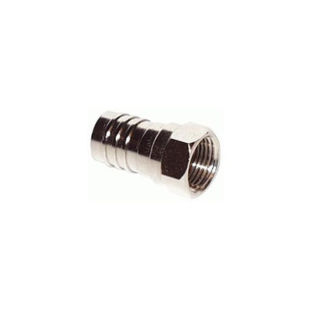 F-konnektor , crimp for SAT 4/DG80ZH-H