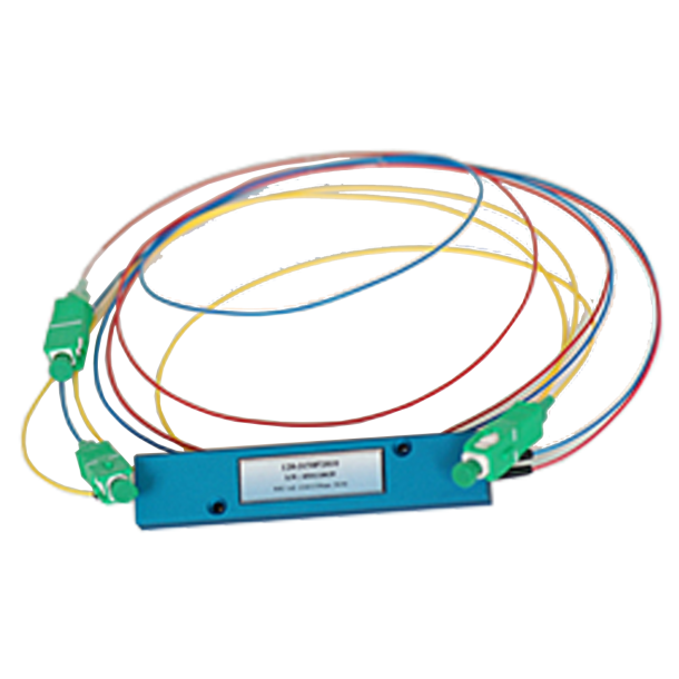 Optisk Single Mode Dual Window 1x2 Splitter