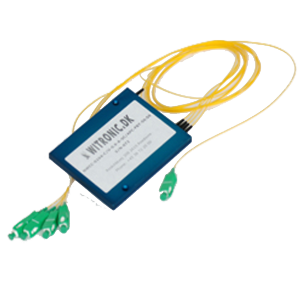 Optisk Single Mode Dual Window 1xN Splitter