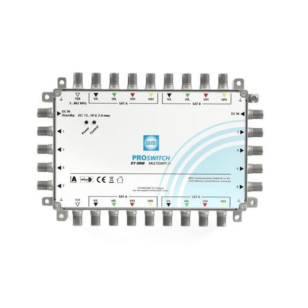 WISI multiswitch DY0908