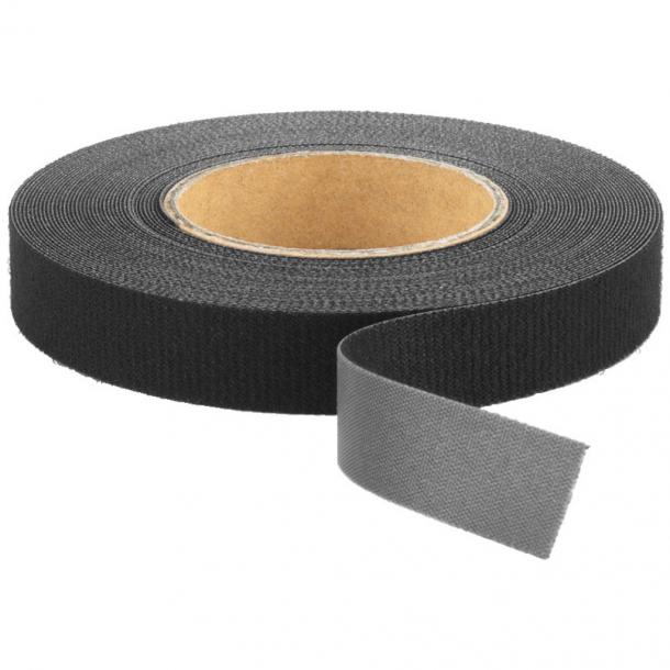 Velcro Hook-and-loop bånd sort